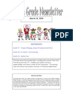 fourth grade newsletter 2