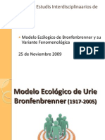 Modelo Ecologico
