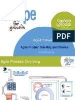Agile Training - User Stories and Backlog