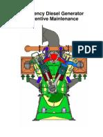 Emergency Diesel Generator Preventive Maintenance