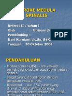 Stroke Medula Spinalis