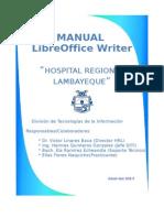 Manual de LibreOffice Writer