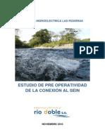 Estudio Preoperatividad Para La Conexion Al SEIN Del Proyecto CH Pizarras