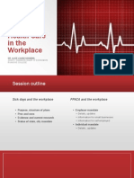 Health Care in the Workplace TMI 2014