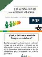 Proceso de Certificación por Competencias Laborales