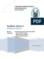 analisis clinico
