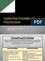 Ficha ppt 006 Constructivismo en psicología