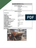 Dumper Giratorio MZ IMER, Mod. MZ 1500 HDG. 1100216