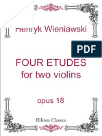 Four Etudes for Two Violins