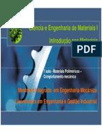 T7 - Polimeros Comportamento Mecanico