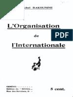 Organisation of the International