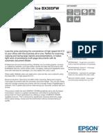 Epson Stylus Office BX305FW Datasheet(1)