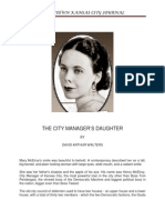 Mary McElroy, City Manager's Daughter, by David Arthur Walters