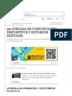 3er JORNADA DE COMUNICACIÓN, DISPOSITIVOS Y ENTORNOS DIGITALES (with images, tweets) · leonautajujuy · Storify