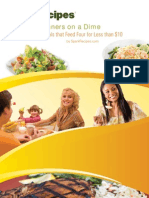 10 Dinners on a Dime