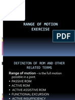 Range-of-Motion
