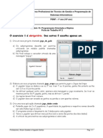 Ficha Trabalho2 PSINF M10
