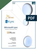 Manual de Uso de Lync