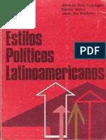 Estilos Politicos Latinoamericanos