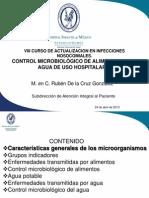 Control Micro Biologico Agua y Alimentos