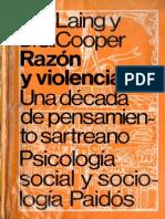 Laing Cooper- Razon y Violencia Una Decada de Pensamiento Sartreano (1964)