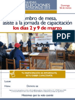 Afiche Jornada Capacitacion Sierra