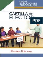 Cartilla Elector NEM2014