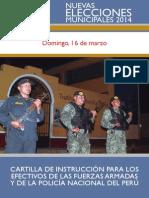Cartilla FF.AA- PNP NEM 2014