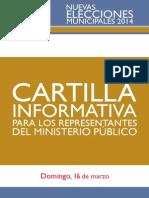 Cartilla Ministerio Publico