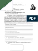 Guia de trabajo teorías y modelos atómicos 8°año básico 2013