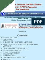 Transient Hot Wire (Nie.edu)