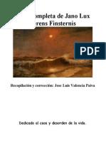 Obra Completa de Jano Lux Ferens Finsternis