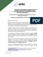 2. Resultados Preliminares Convocatoria 640 de 2013 - Investigadores