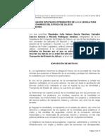 Iniciativa Decreto Revocación Concesiones Transporte. 03-13-2014