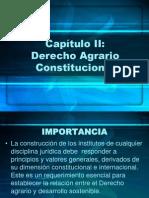 Derecho Agrario Constitucional Cap. II
