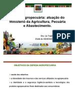 Defesa Agropecuária atuação do MAPA