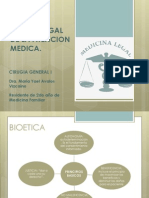 Marco Legal de La Atencion Medica en Urgencias