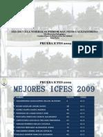 RESULTADOS PRUEBAS ICFES 2009