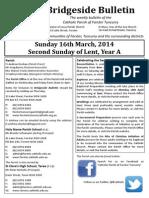 2014-03-16 - 2nd Lent A