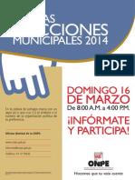 Afiche Elector NEM 2014