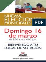 Banner Bienvenida NEM Lima 2014