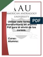 AAU Formato de Ejemplo