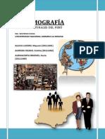 DEMOGRAFÍA 2013-II