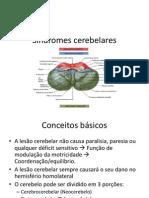 Síndromes cerebelares - Zé