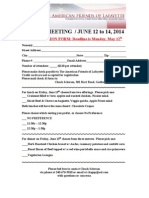 Registration Form ANNUAL MEETING