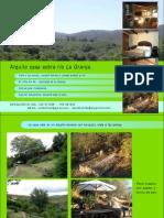 Casa sobre río La Granja