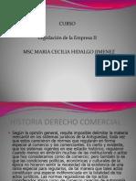 Curso Legislacion Mercantil II