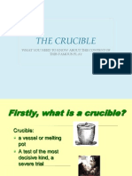 intro historical background crucible