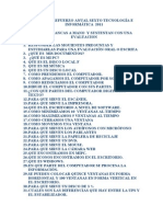 Plan de Nivelacion Anual Informatica Grado Sexto 2011