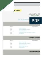 Departamento de Matemáticas - Plan deEstudios2006